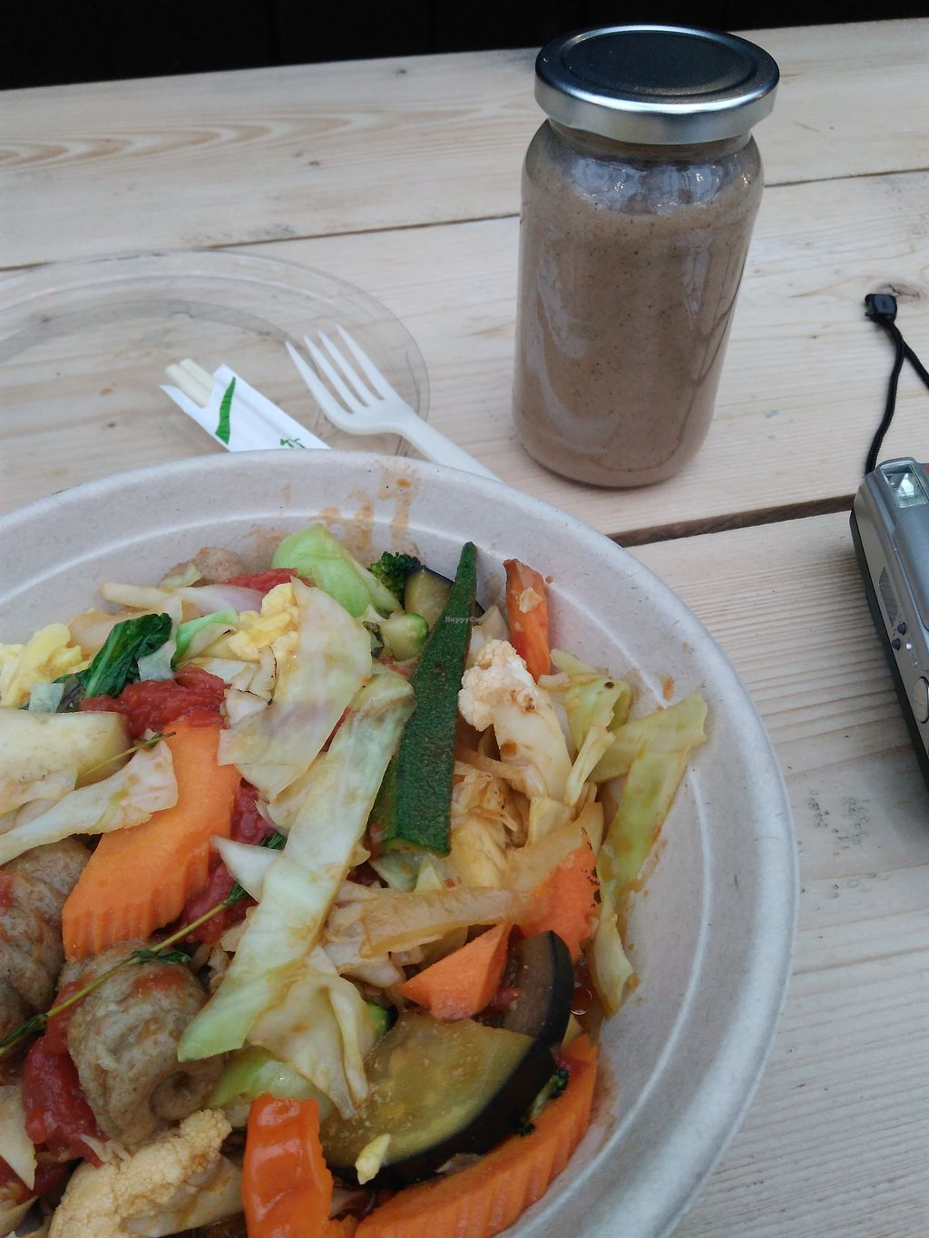 """Photo of CookDaily  by <a href=""""/members/profile/veronikapaz"""">veronikapaz</a> <br/>The Hard Bowl and the banana-cinnamon smoothie <br/> January 28, 2018  - <a href='/contact/abuse/image/57708/351861'>Report</a>"""