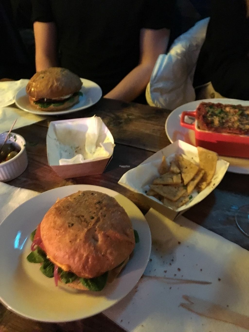 "Photo of Just FaB - Food Bus  by <a href=""/members/profile/Saltyalien"">Saltyalien</a> <br/>Cheeseburger, lasagna and panelle  <br/> November 30, 2016  - <a href='/contact/abuse/image/57709/195958'>Report</a>"