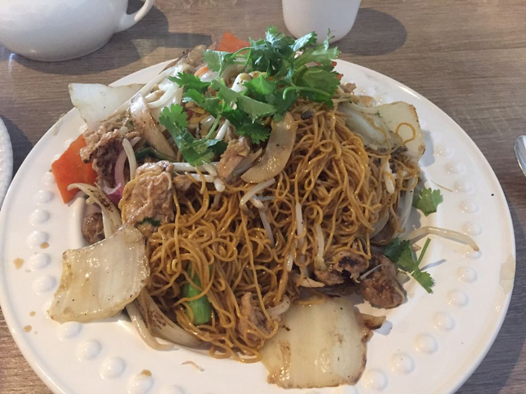 """Photo of The Purple Mint  by <a href=""""/members/profile/Gregpope410"""">Gregpope410</a> <br/>egg less noodle stir fry <br/> December 5, 2016  - <a href='/contact/abuse/image/57716/197716'>Report</a>"""