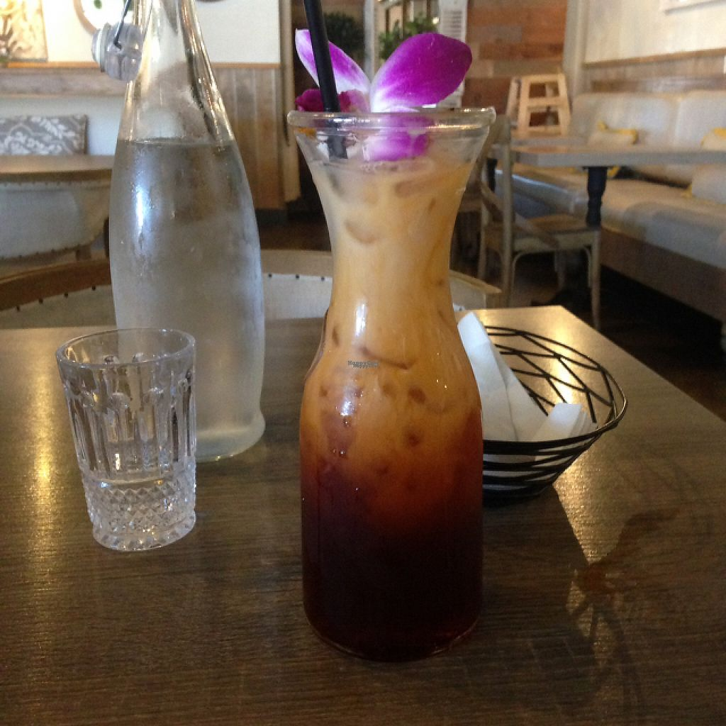 """Photo of The Purple Mint  by <a href=""""/members/profile/Mudnotblood"""">Mudnotblood</a> <br/>vegan Thai tea <br/> January 17, 2017  - <a href='/contact/abuse/image/57716/212906'>Report</a>"""