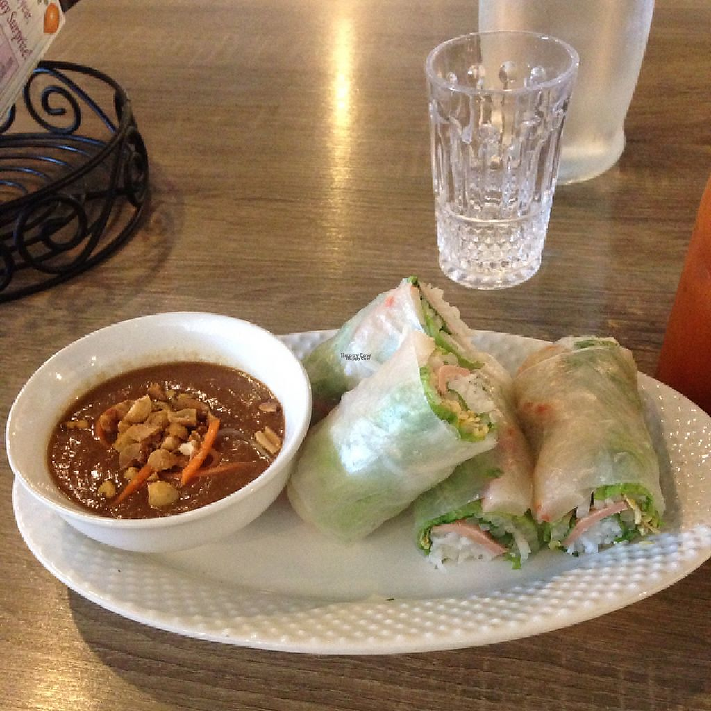 """Photo of The Purple Mint  by <a href=""""/members/profile/Mudnotblood"""">Mudnotblood</a> <br/>pork and shrimp spring rolls <br/> January 17, 2017  - <a href='/contact/abuse/image/57716/212907'>Report</a>"""