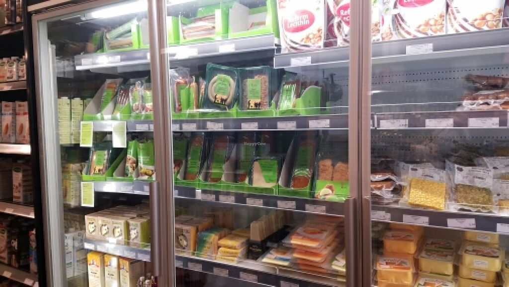 """Photo of Ruohonjuuri  by <a href=""""/members/profile/kenvegan"""">kenvegan</a> <br/>Vegan refrigerated products <br/> June 7, 2016  - <a href='/contact/abuse/image/5772/152727'>Report</a>"""
