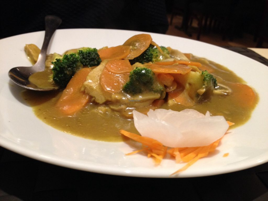 """Photo of Vegesana  by <a href=""""/members/profile/hack_man"""">hack_man</a> <br/>Veg curry with tofu  <br/> November 30, 2015  - <a href='/contact/abuse/image/57731/126709'>Report</a>"""