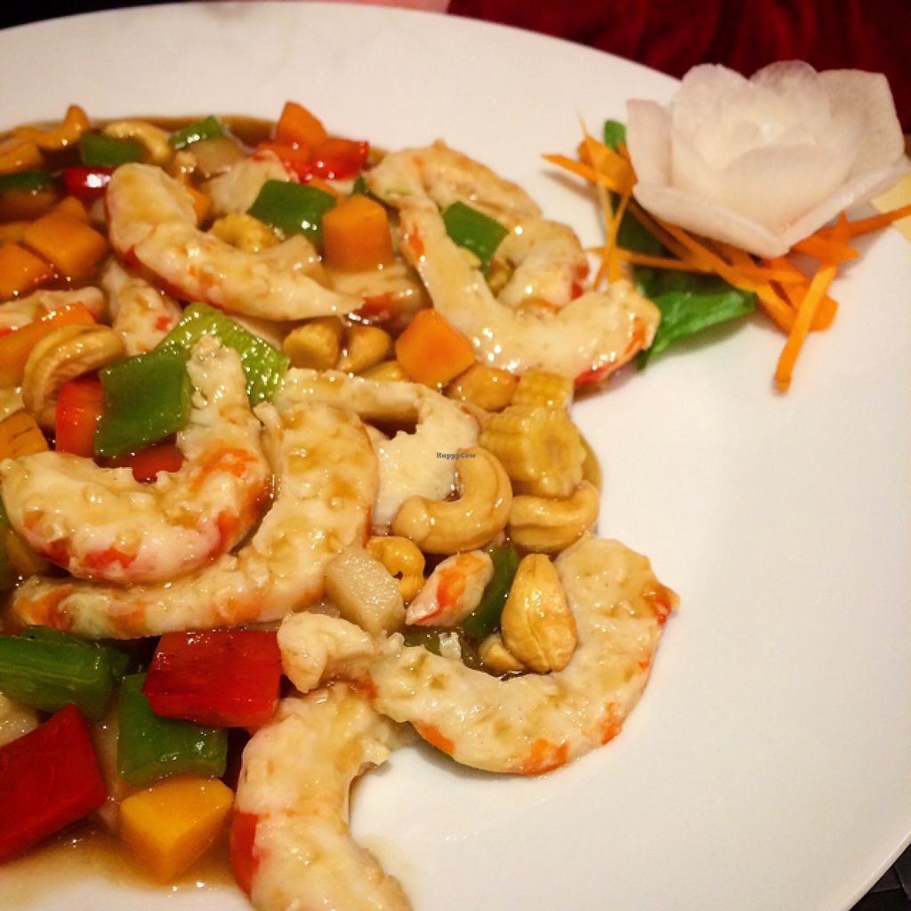 """Photo of Vegesana  by <a href=""""/members/profile/ElleonAngus"""">ElleonAngus</a> <br/>veggie prawn and cashew dish  <br/> May 22, 2016  - <a href='/contact/abuse/image/57731/150292'>Report</a>"""