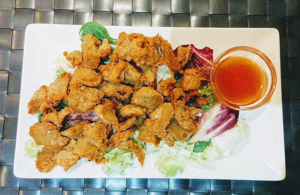 """Photo of Vegesana  by <a href=""""/members/profile/Talporat"""">Talporat</a> <br/>Fried soy chicken <br/> September 12, 2017  - <a href='/contact/abuse/image/57731/303698'>Report</a>"""