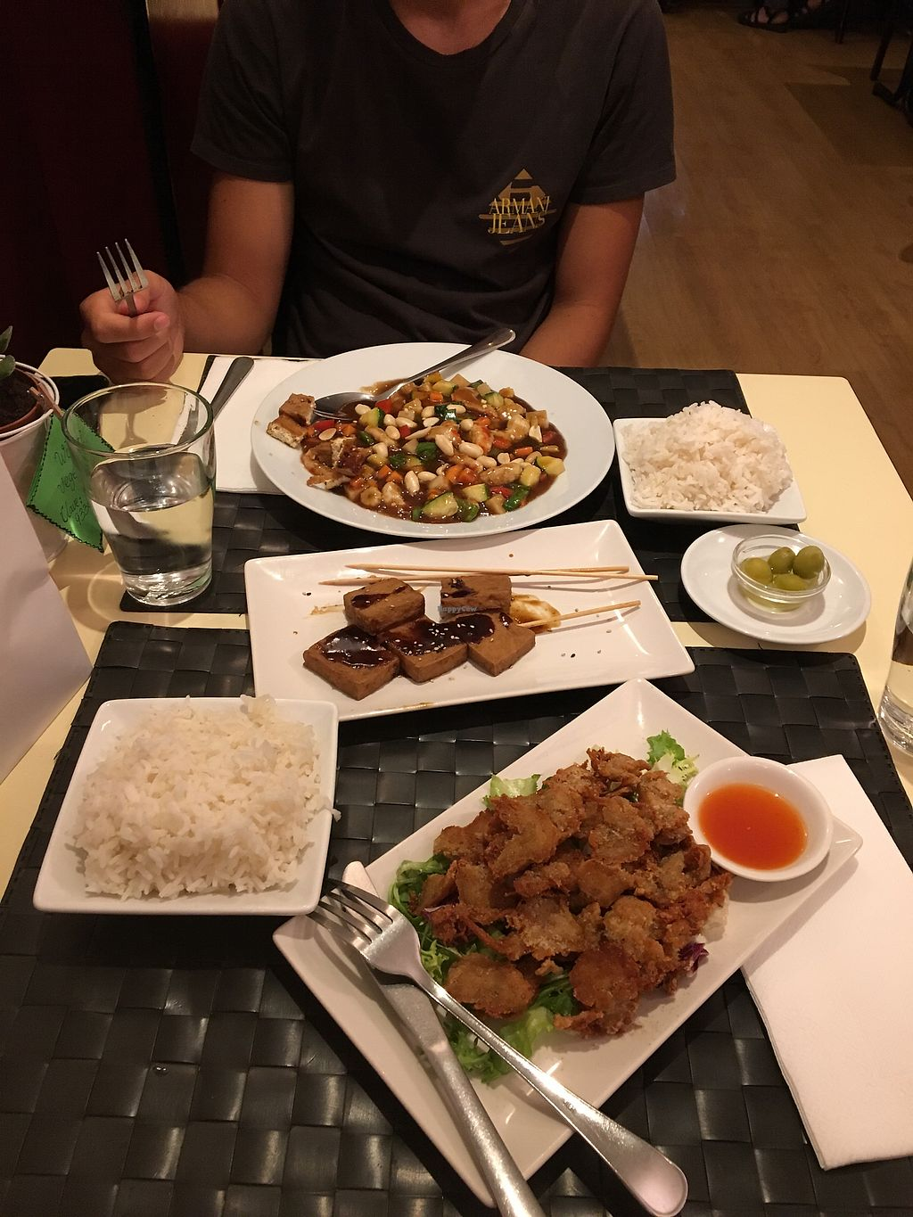 """Photo of Vegesana  by <a href=""""/members/profile/DomiGer"""">DomiGer</a> <br/>I love that crispy """"chicken""""!   <br/> September 21, 2017  - <a href='/contact/abuse/image/57731/306854'>Report</a>"""