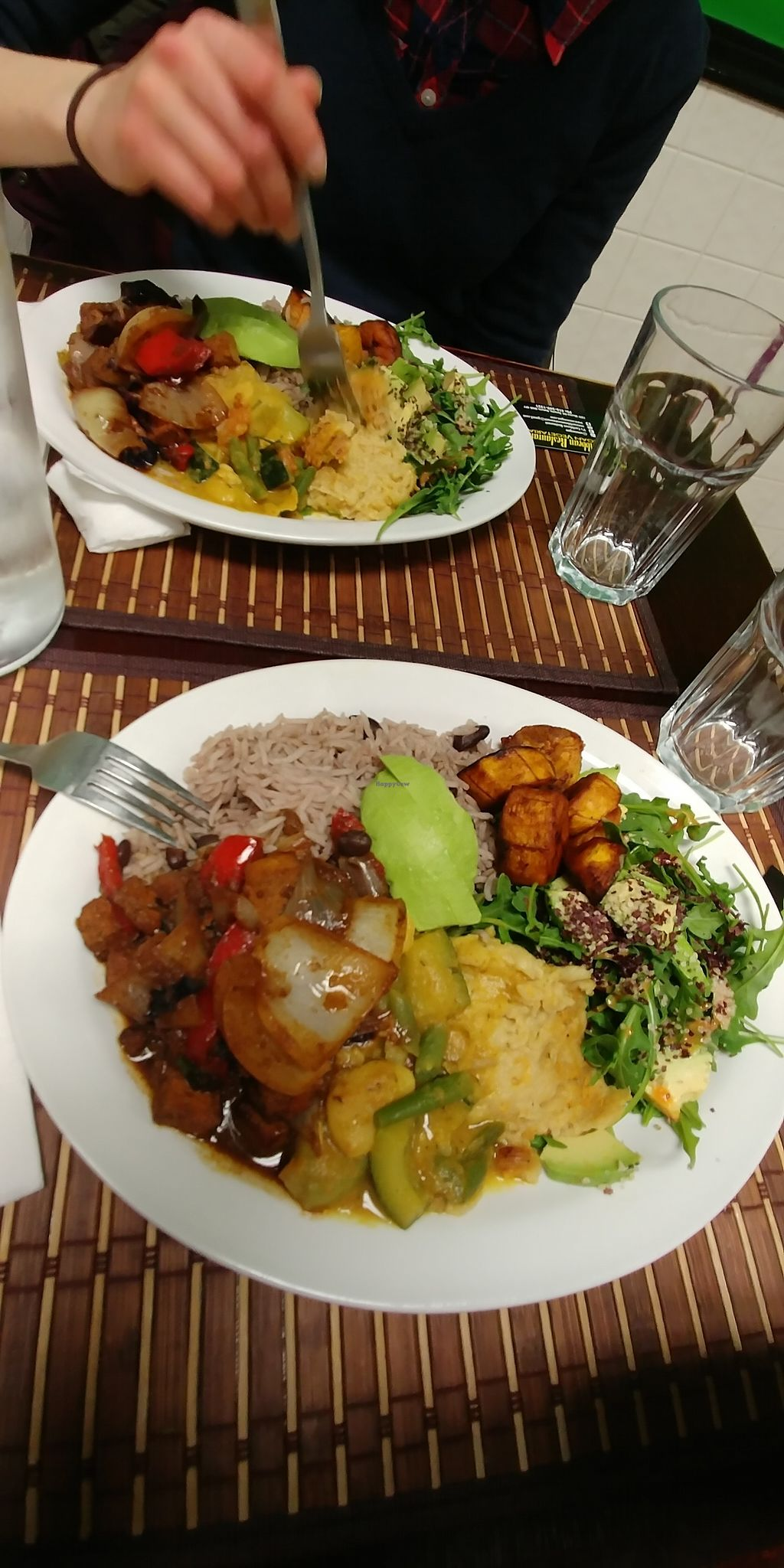 """Photo of V's Caribbean  by <a href=""""/members/profile/jonprc"""">jonprc</a> <br/>A full plate at V's <br/> February 25, 2018  - <a href='/contact/abuse/image/57759/363421'>Report</a>"""