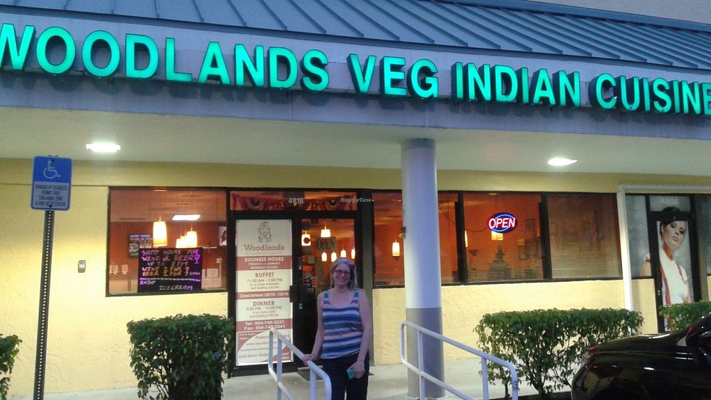 """Photo of Woodlands  by <a href=""""/members/profile/veganri"""">veganri</a> <br/>Woodlands ~ Lauderhill, FL Vegetarian and Vegan South Indian <br/> March 30, 2016  - <a href='/contact/abuse/image/5775/142002'>Report</a>"""