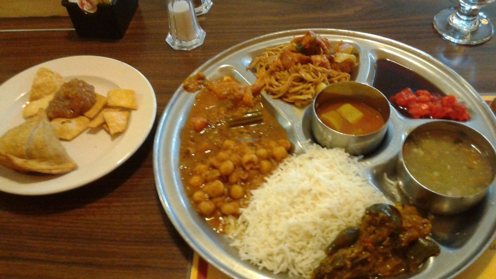 """Photo of Woodlands  by <a href=""""/members/profile/veganri"""">veganri</a> <br/>Woodlands ~ Lauderhill, FL Round 1 of the Sunday lunch buffet 3.27.16 $12.95 on the weekend <br/> March 30, 2016  - <a href='/contact/abuse/image/5775/142003'>Report</a>"""