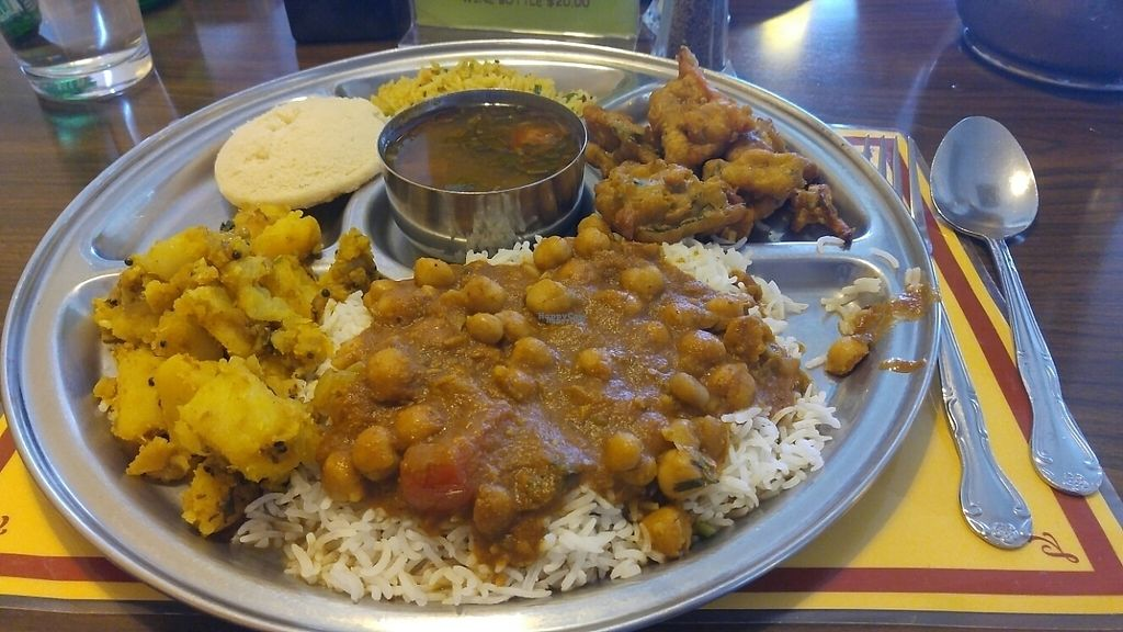"""Photo of Woodlands  by <a href=""""/members/profile/rklevens"""">rklevens</a> <br/>vegan buffet <br/> April 6, 2017  - <a href='/contact/abuse/image/5775/245148'>Report</a>"""