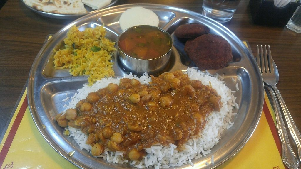 """Photo of Woodlands  by <a href=""""/members/profile/rklevens"""">rklevens</a> <br/>Buffet vegan options <br/> March 31, 2018  - <a href='/contact/abuse/image/5775/378928'>Report</a>"""