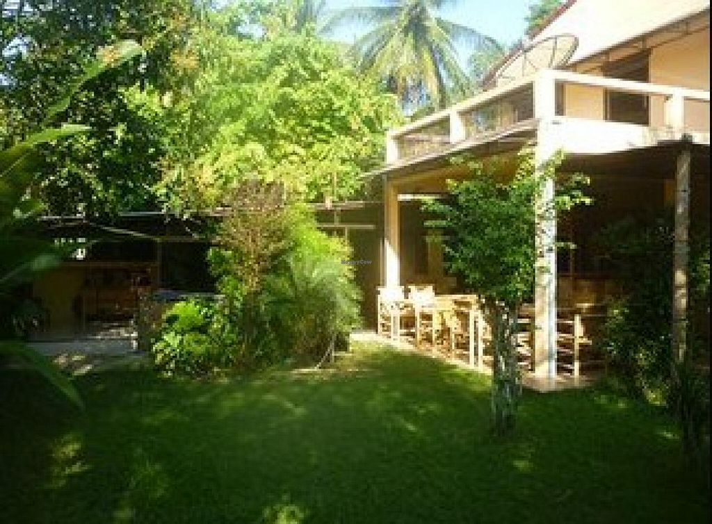"""Photo of Siesta Garden Cafe at Suryamuni Healing Center  by <a href=""""/members/profile/community"""">community</a> <br/>Siesta Garden Cafe at Suryamuni Healing Center <br/> April 26, 2015  - <a href='/contact/abuse/image/57786/100356'>Report</a>"""