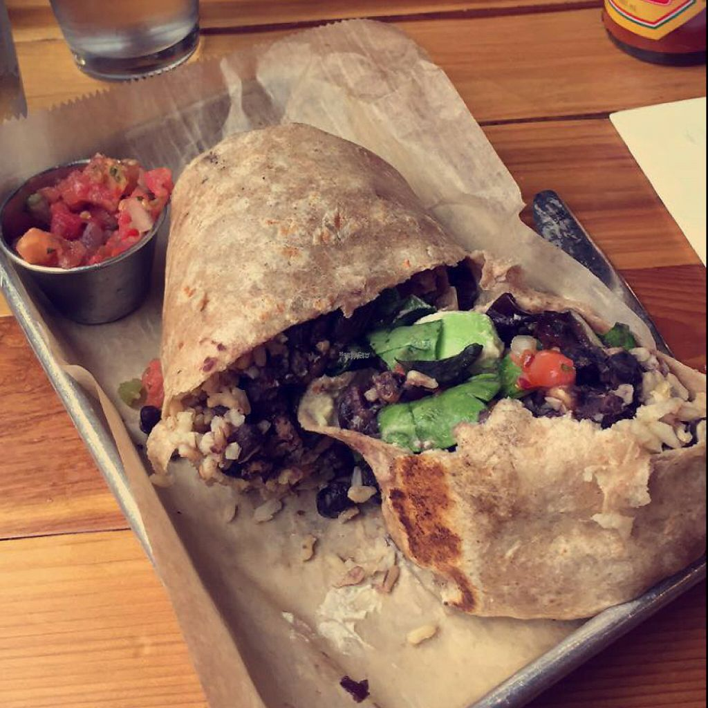 "Photo of The Lunch Room Bakery & Cafe  by <a href=""/members/profile/pinaclaudiaa"">pinaclaudiaa</a> <br/>Burrito w/ tofu <br/> November 27, 2016  - <a href='/contact/abuse/image/57807/194921'>Report</a>"