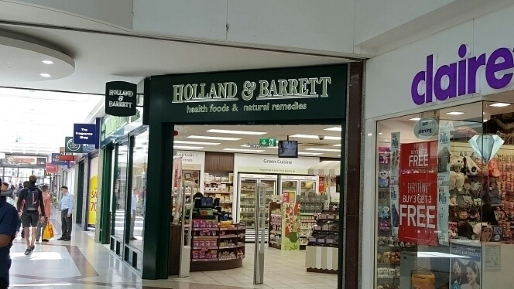 "Photo of Holland & Barrett - The Mall  by <a href=""/members/profile/Clare"">Clare</a> <br/>Store front <br/> August 10, 2016  - <a href='/contact/abuse/image/5781/167560'>Report</a>"