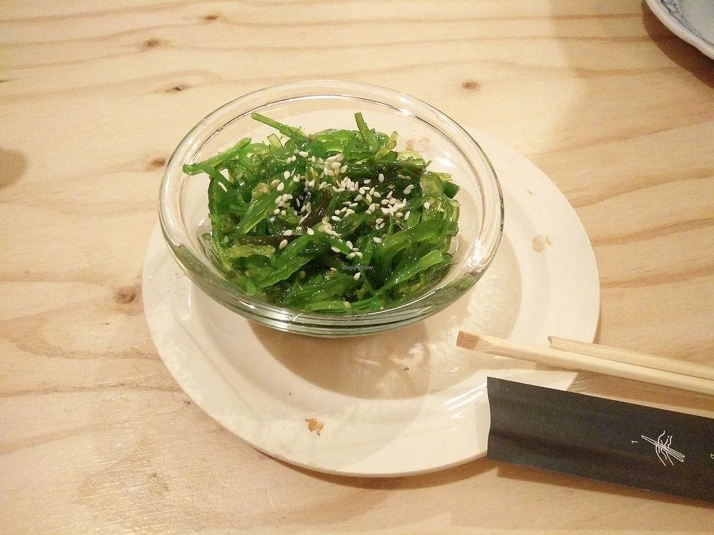 """Photo of La Camelia Vegan Bar  by <a href=""""/members/profile/martinicontomate"""">martinicontomate</a> <br/>wakame salad <br/> March 17, 2018  - <a href='/contact/abuse/image/57833/372142'>Report</a>"""