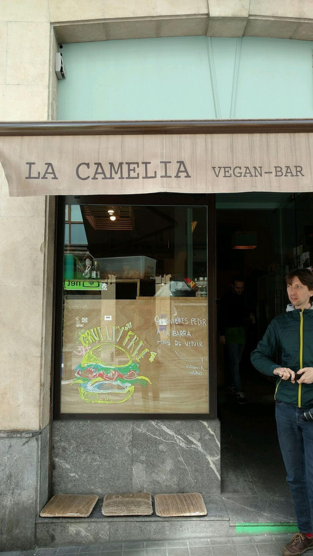 "Photo of La Camelia Vegan Bar  by <a href=""/members/profile/vineeta9"">vineeta9</a> <br/>entrance <br/> March 30, 2018  - <a href='/contact/abuse/image/57833/378333'>Report</a>"