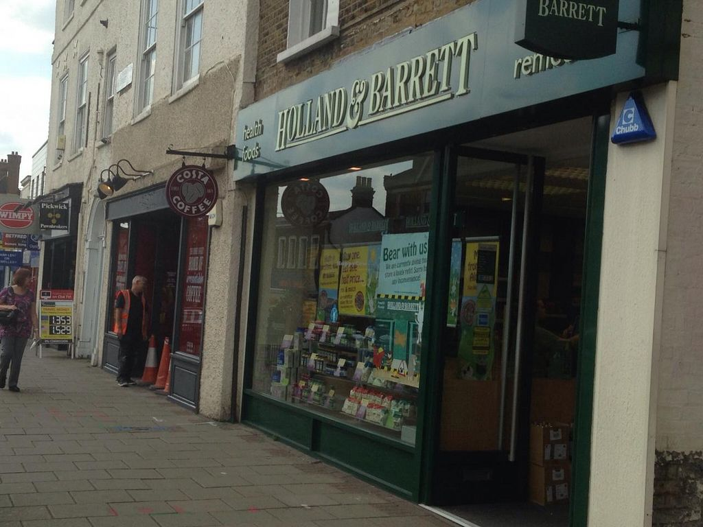 """Photo of Holland and Barrett - Eltham  by <a href=""""/members/profile/Clare"""">Clare</a> <br/>Store front <br/> June 26, 2015  - <a href='/contact/abuse/image/5783/107315'>Report</a>"""