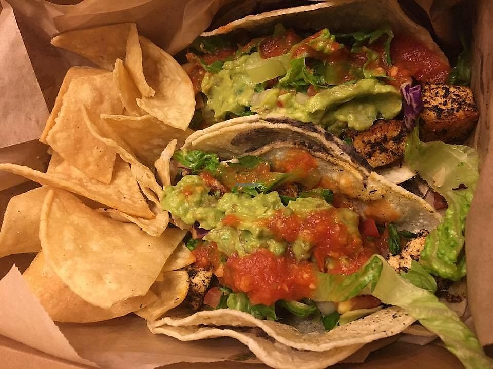 "Photo of Bear Tooth Theatrepub  by <a href=""/members/profile/ErinElizabeth907"">ErinElizabeth907</a> <br/>Blackened Tofu Tacos <br/> November 22, 2017  - <a href='/contact/abuse/image/57850/328207'>Report</a>"