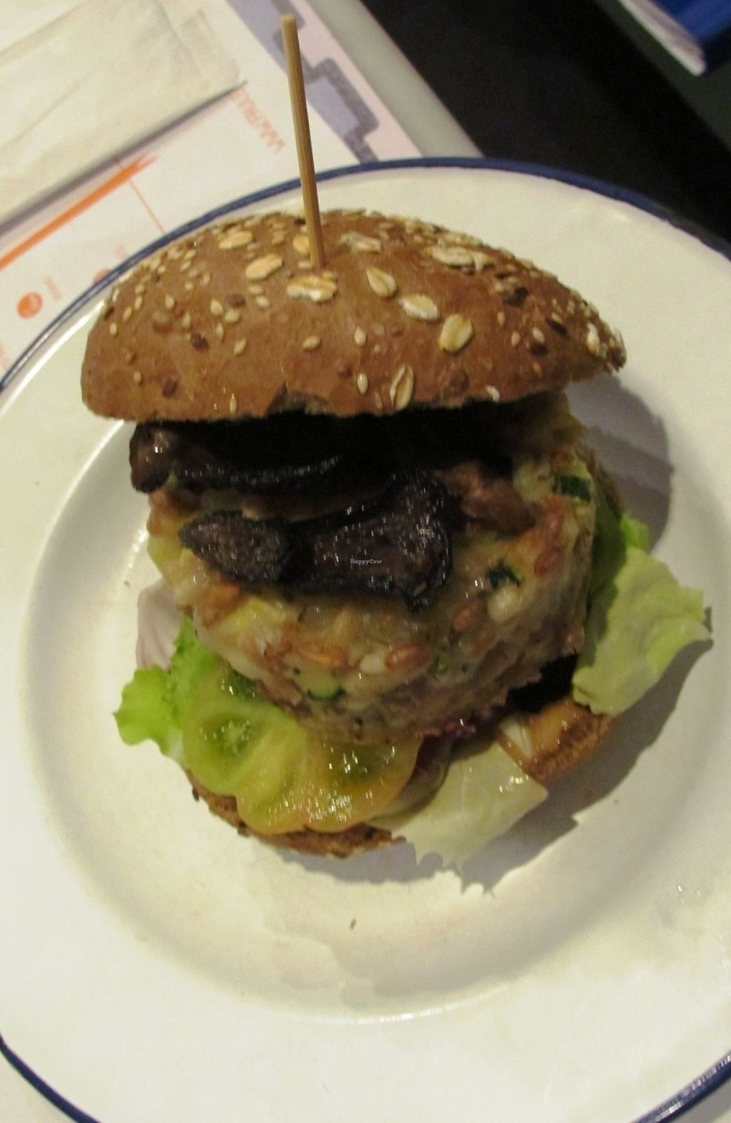 "Photo of Frulez  by <a href=""/members/profile/Chris%20Phillips%20Vegan"">Chris Phillips Vegan</a> <br/>My Burger <br/> April 19, 2016  - <a href='/contact/abuse/image/57869/209786'>Report</a>"