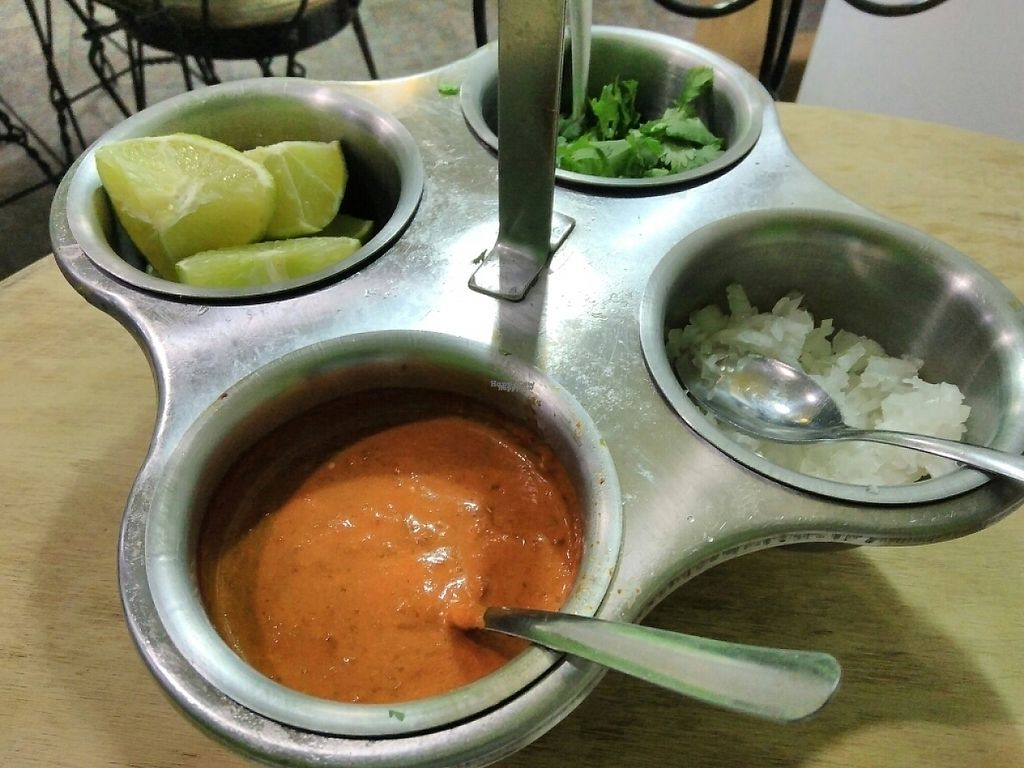 """Photo of Vegan Pa' Cá'  by <a href=""""/members/profile/veggoforever"""">veggoforever</a> <br/>Taco Toppings <br/> December 24, 2016  - <a href='/contact/abuse/image/57926/204386'>Report</a>"""