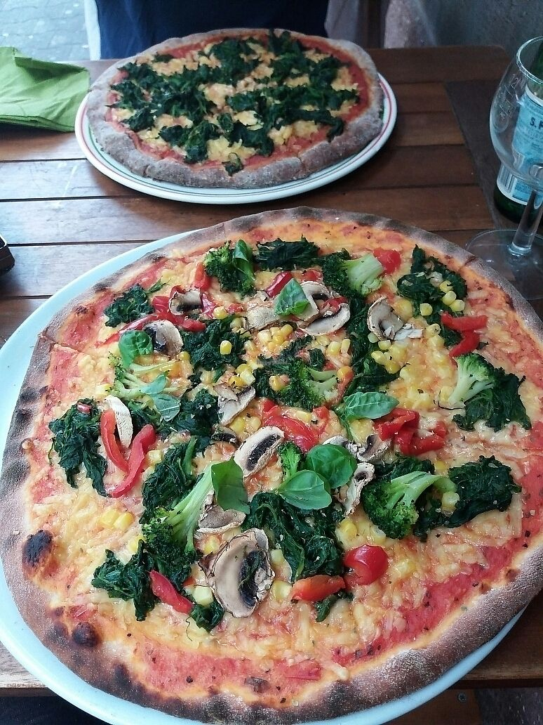"Photo of Pizzeria Caravella  by <a href=""/members/profile/Giniimaus"">Giniimaus</a> <br/>vegan pizzas <br/> September 8, 2017  - <a href='/contact/abuse/image/57945/302161'>Report</a>"