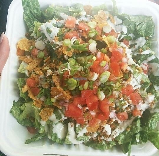 """Photo of Rawlicious  by <a href=""""/members/profile/MichelleMolloy"""">MichelleMolloy</a> <br/>Vegan Taco Salad <br/> September 21, 2016  - <a href='/contact/abuse/image/57949/177067'>Report</a>"""