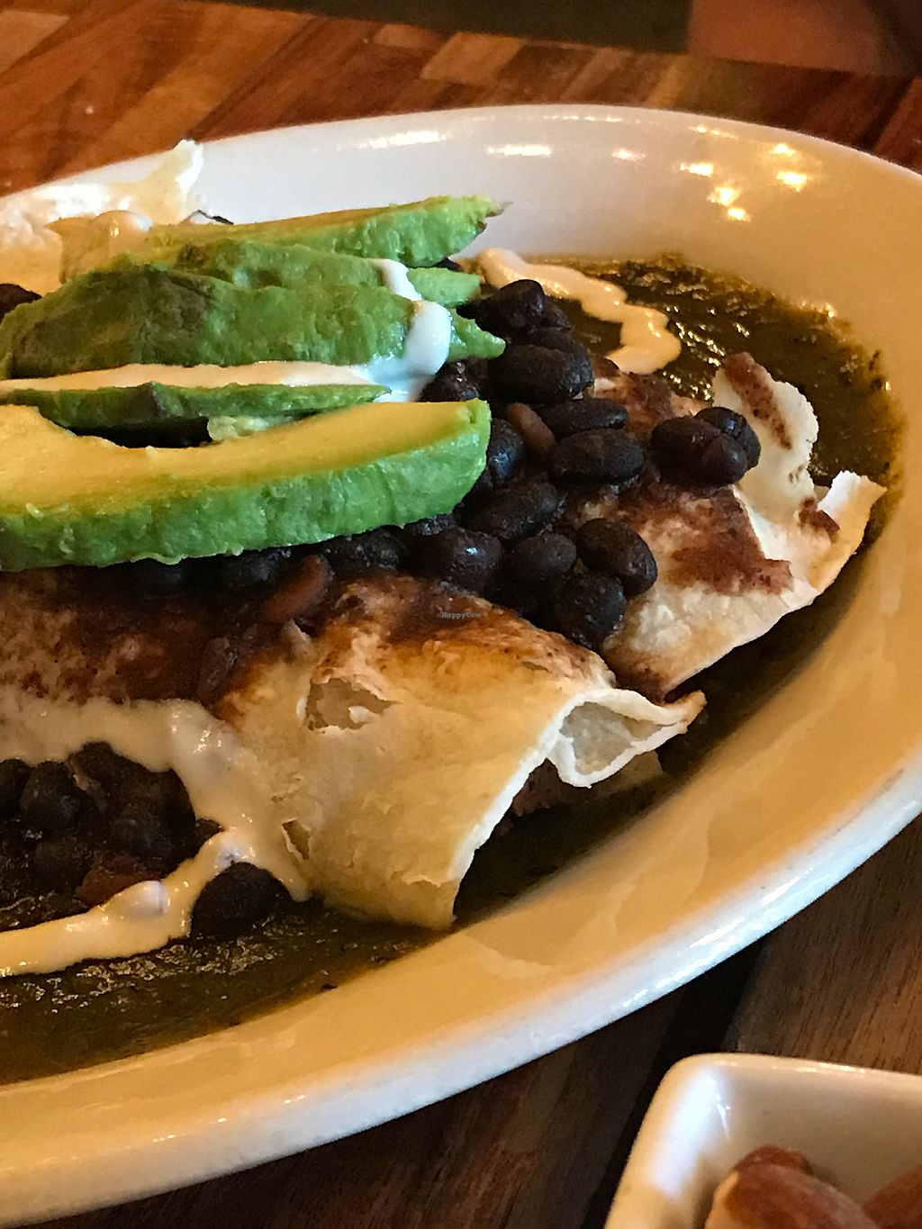 "Photo of GreenSpace Cafe  by <a href=""/members/profile/ultra%2Arunner"">ultra*runner</a> <br/>Jackfruit enchiladas  <br/> May 2, 2018  - <a href='/contact/abuse/image/57951/393738'>Report</a>"