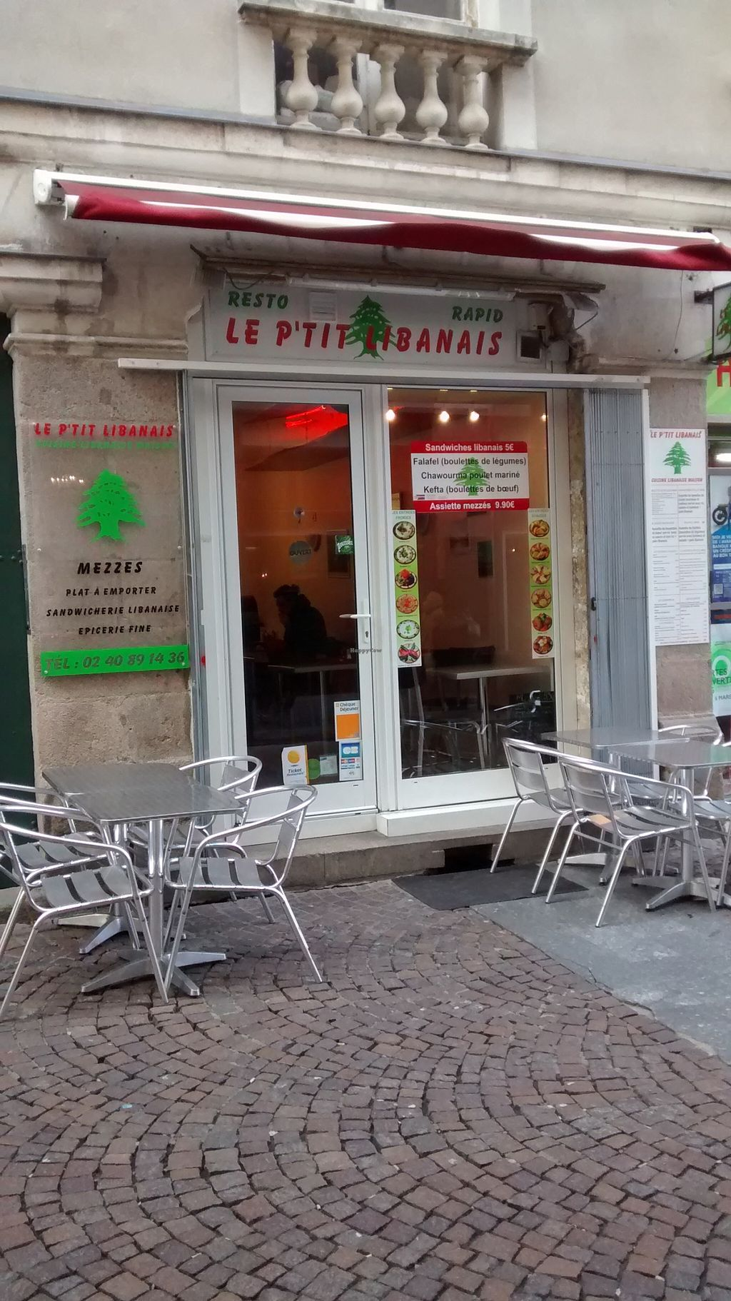 "Photo of Le P'tit Libanais  by <a href=""/members/profile/JonJon"">JonJon</a> <br/>Front wall <br/> February 26, 2016  - <a href='/contact/abuse/image/57953/137850'>Report</a>"