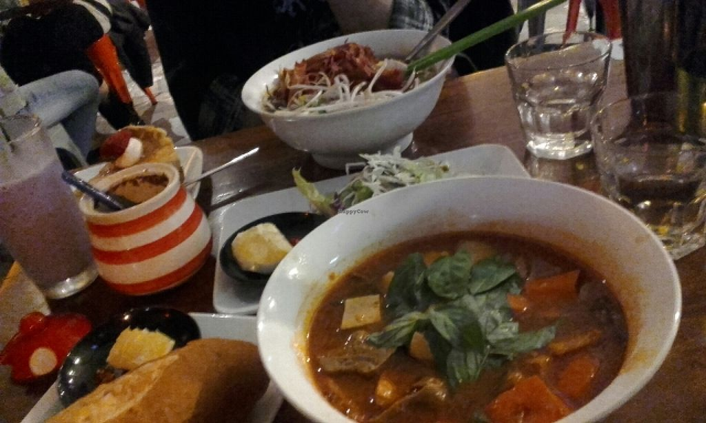 "Photo of Fina's 2  by <a href=""/members/profile/IronTheremin666"">IronTheremin666</a> <br/>bamboo soup, 'beef' stew, taro frappe and new york cheesecake <br/> April 30, 2016  - <a href='/contact/abuse/image/58007/146782'>Report</a>"