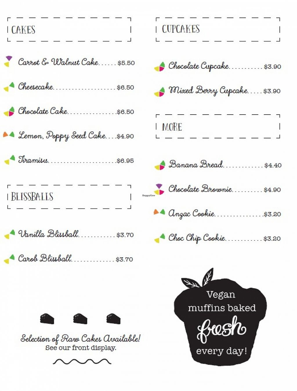 """Photo of Healthy Planet Cafe  by <a href=""""/members/profile/verbosity"""">verbosity</a> <br/>Menu - page 4 <br/> November 2, 2015  - <a href='/contact/abuse/image/58008/123589'>Report</a>"""