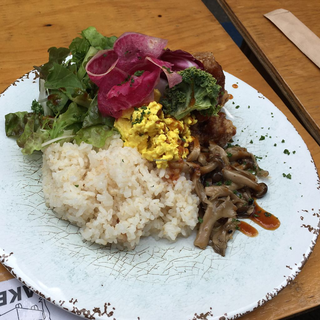 """Photo of Cori Vegan Foodstand  by <a href=""""/members/profile/lavender25"""">lavender25</a> <br/>vegan plate <br/> June 2, 2017  - <a href='/contact/abuse/image/58013/265168'>Report</a>"""