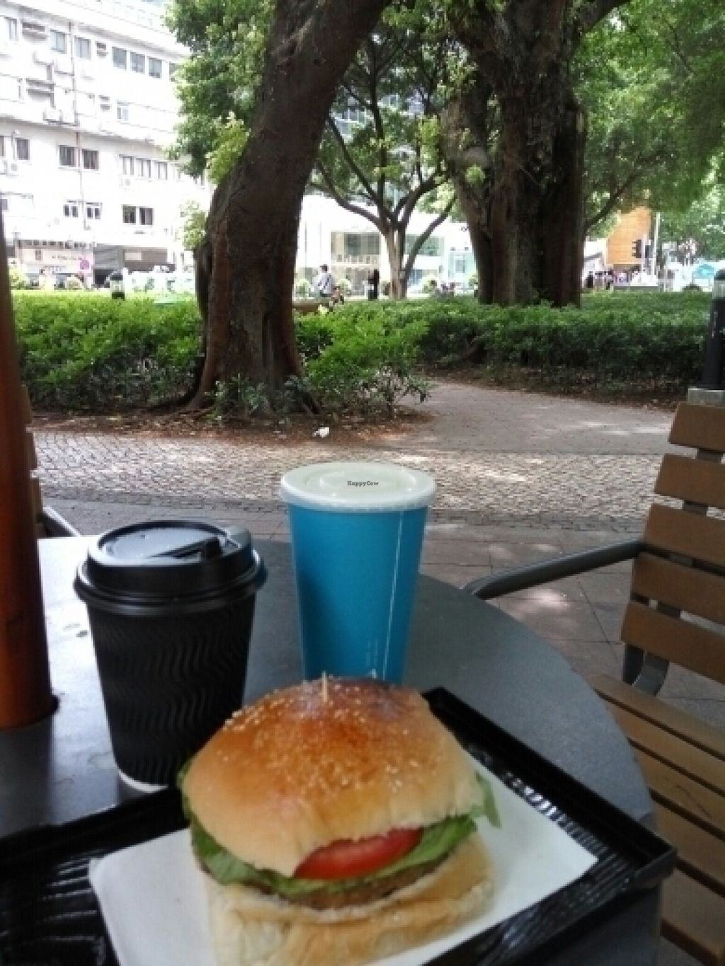 """Photo of Ting Ting Cafe  by <a href=""""/members/profile/pianista"""">pianista</a> <br/>Lovely meal in the park close to the city centre <br/> July 19, 2016  - <a href='/contact/abuse/image/58022/160827'>Report</a>"""