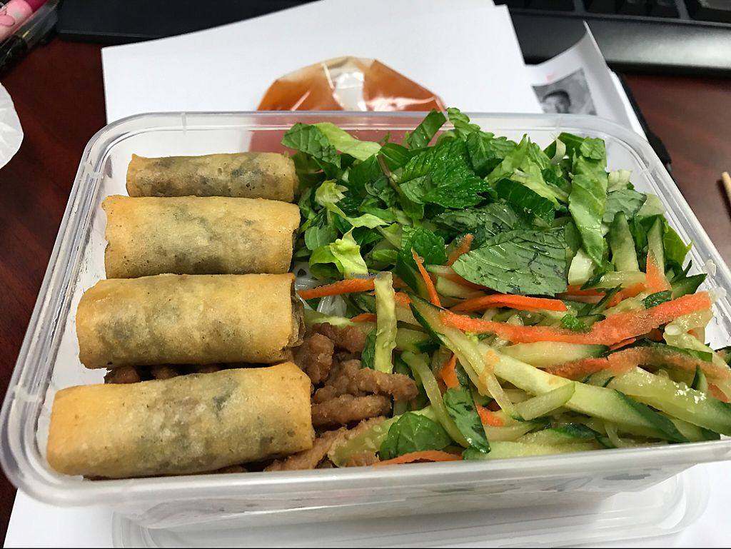"""Photo of Ting Ting Cafe  by <a href=""""/members/profile/marukochan"""">marukochan</a> <br/>delicious cold vietnamese vermicelli (avail mon n thurs) <br/> February 23, 2017  - <a href='/contact/abuse/image/58022/229541'>Report</a>"""
