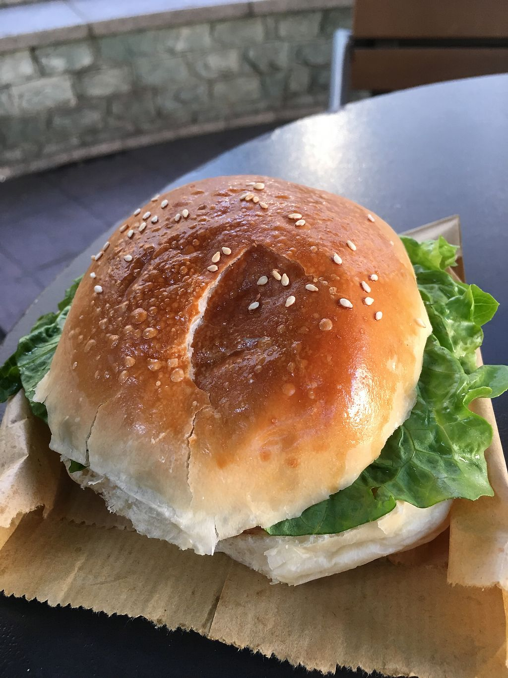 """Photo of Ting Ting Cafe  by <a href=""""/members/profile/Veg4Jay"""">Veg4Jay</a> <br/>Quinoa Veggie Burger <br/> November 28, 2017  - <a href='/contact/abuse/image/58022/329917'>Report</a>"""