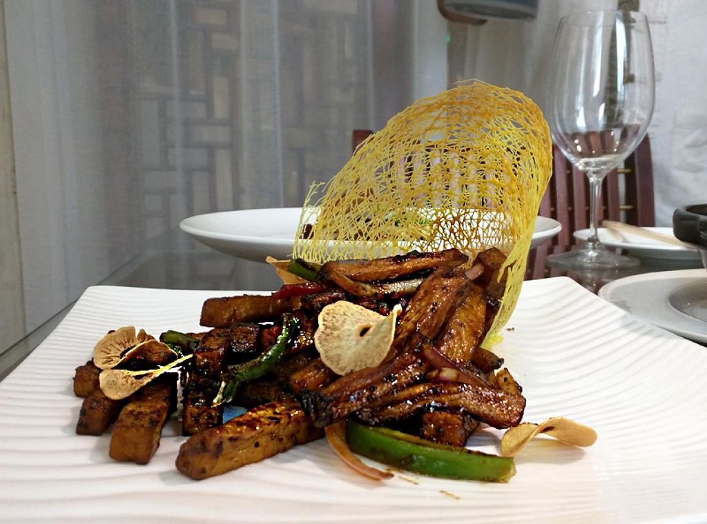 """Photo of Belencre Vegan Restaurant  by <a href=""""/members/profile/shara"""">shara</a> <br/>Vegan fine dining <br/> May 3, 2015  - <a href='/contact/abuse/image/58029/101132'>Report</a>"""