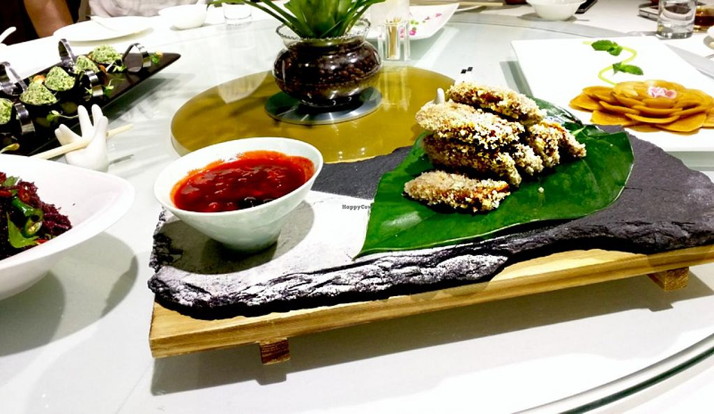 """Photo of Belencre Vegan Restaurant  by <a href=""""/members/profile/shara"""">shara</a> <br/>mushroom tempura <br/> May 4, 2015  - <a href='/contact/abuse/image/58029/101220'>Report</a>"""