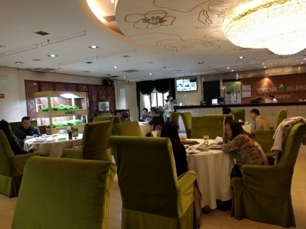 """Photo of Belencre Vegan Restaurant  by <a href=""""/members/profile/maltman23"""">maltman23</a> <br/>Inside the dining room  <br/> November 2, 2016  - <a href='/contact/abuse/image/58029/186025'>Report</a>"""