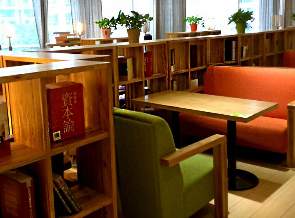 """Photo of Belencre Vegan Restaurant  by <a href=""""/members/profile/shara"""">shara</a> <br/>Reading room / cafe  <br/> May 4, 2015  - <a href='/contact/abuse/image/58029/265153'>Report</a>"""