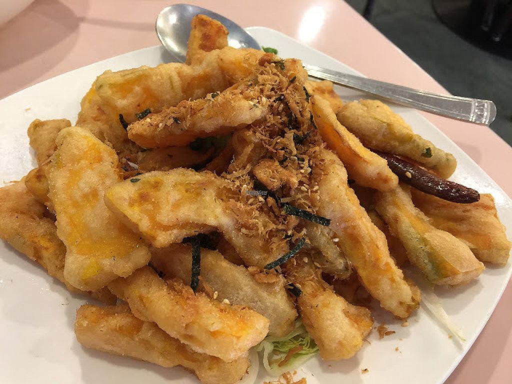 """Photo of Veggie Lee  by <a href=""""/members/profile/steveoliverc"""">steveoliverc</a> <br/>Fried pumpkin. Incredible!! <br/> December 17, 2016  - <a href='/contact/abuse/image/58042/202255'>Report</a>"""