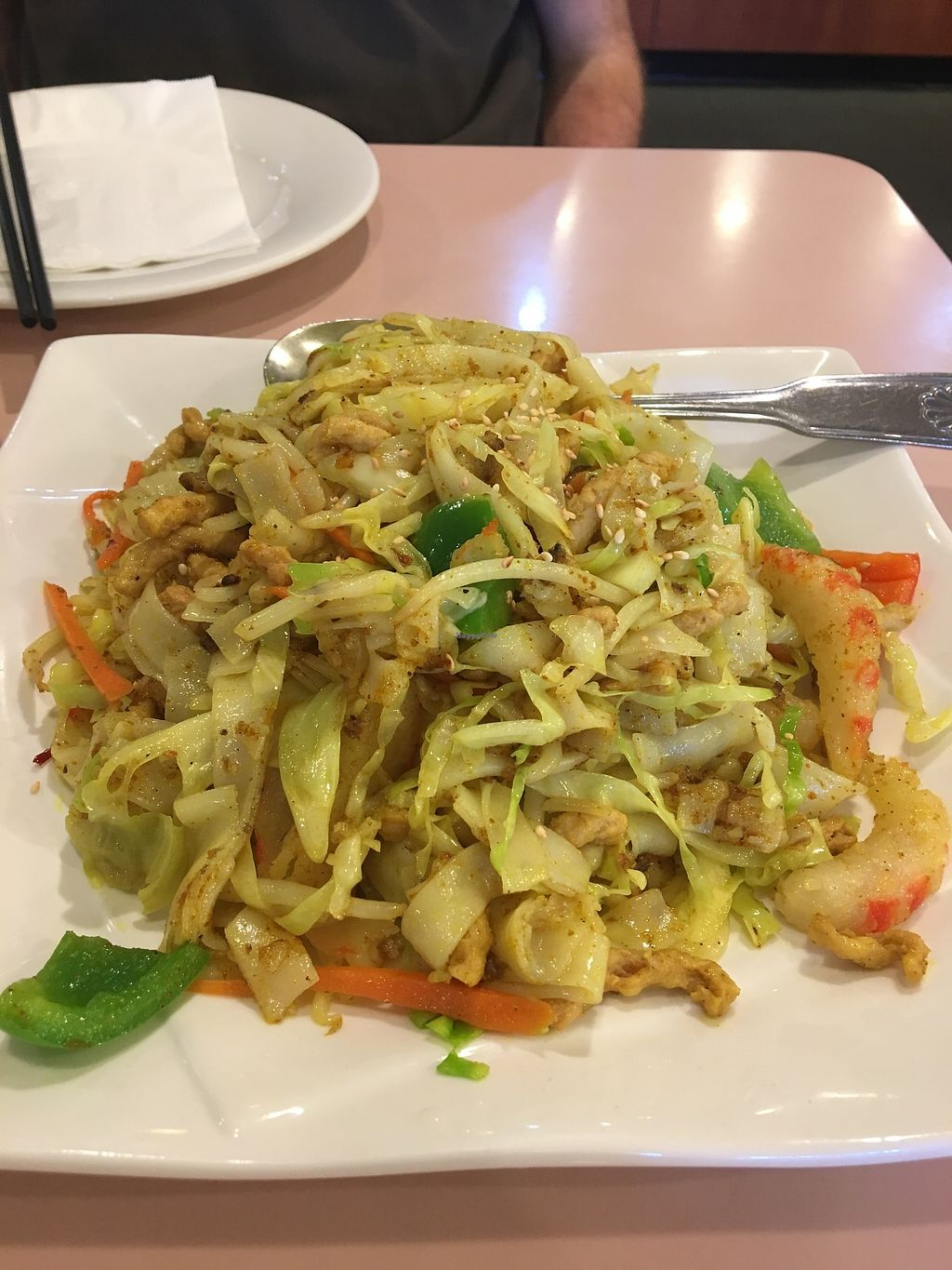 """Photo of Veggie Lee  by <a href=""""/members/profile/Clean%26Green"""">Clean&Green</a> <br/>Singaporean rice noodles, was okay <br/> March 29, 2018  - <a href='/contact/abuse/image/58042/378031'>Report</a>"""