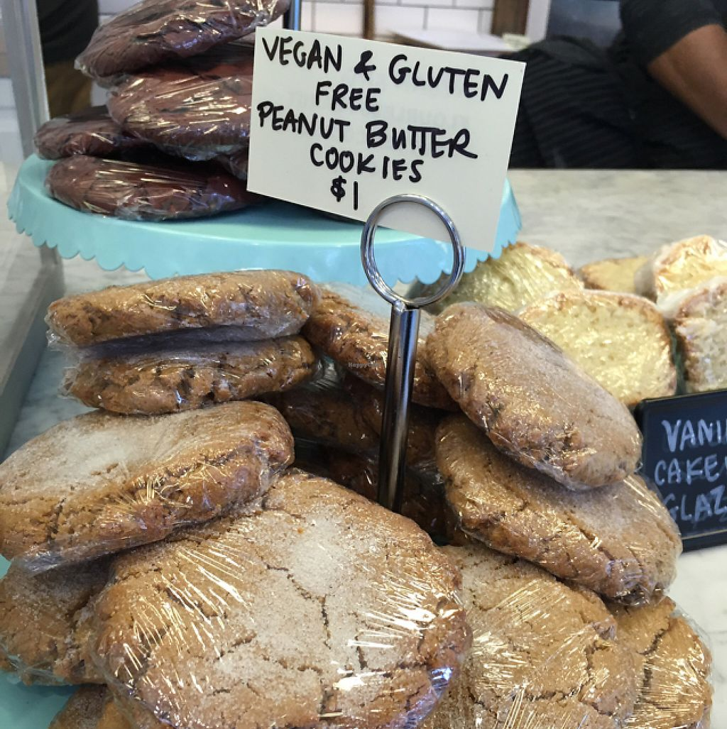 """Photo of Buttermilk Bake Shop  by <a href=""""/members/profile/meredith"""">meredith</a> <br/>vegan cookies  <br/> June 1, 2017  - <a href='/contact/abuse/image/58045/264681'>Report</a>"""