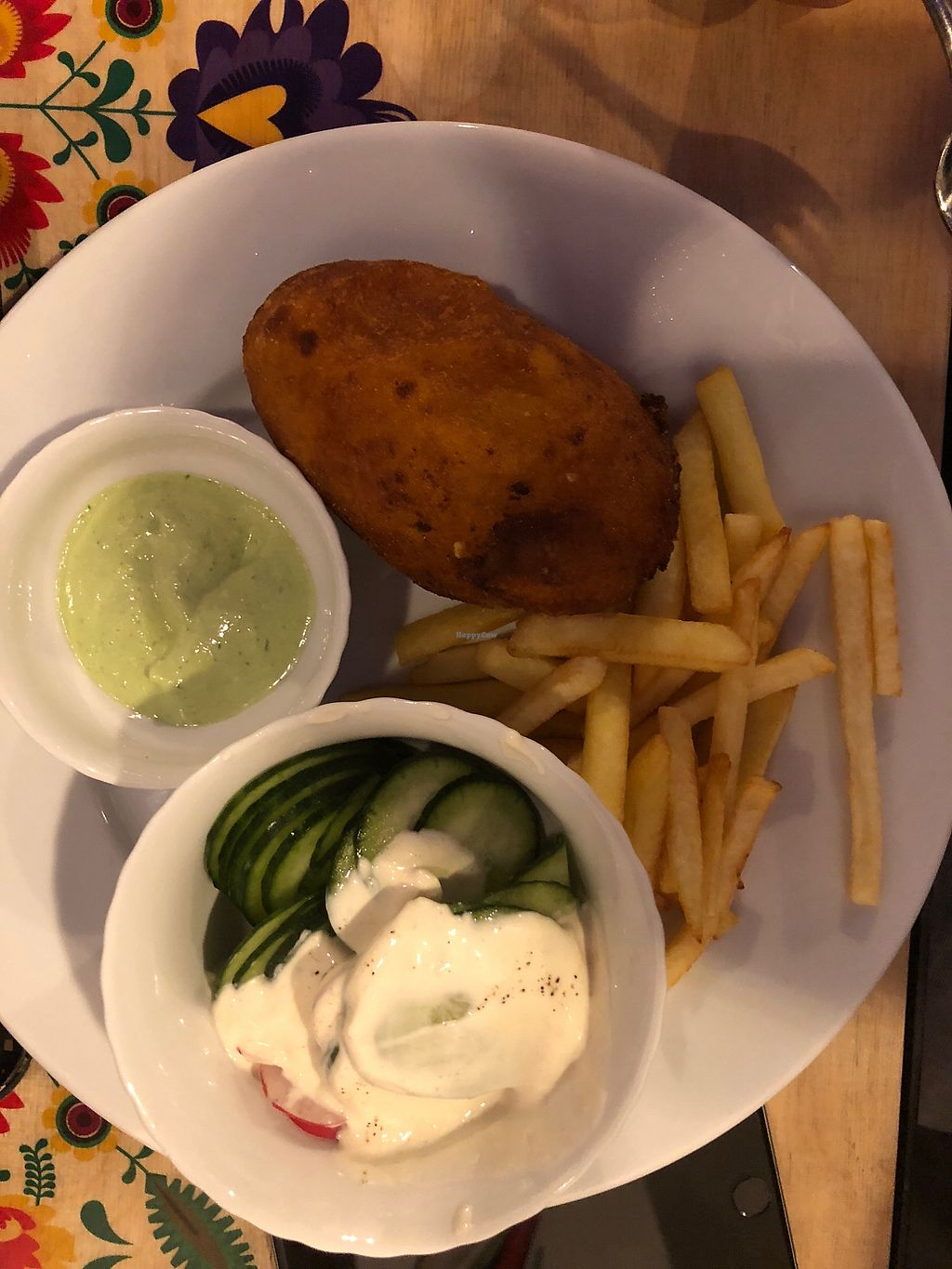 """Photo of Vege Bistro - Polish Vegan Food  by <a href=""""/members/profile/ElmiraDewes"""">ElmiraDewes</a> <br/>Kotlet de volaille  <br/> January 27, 2018  - <a href='/contact/abuse/image/58057/351536'>Report</a>"""