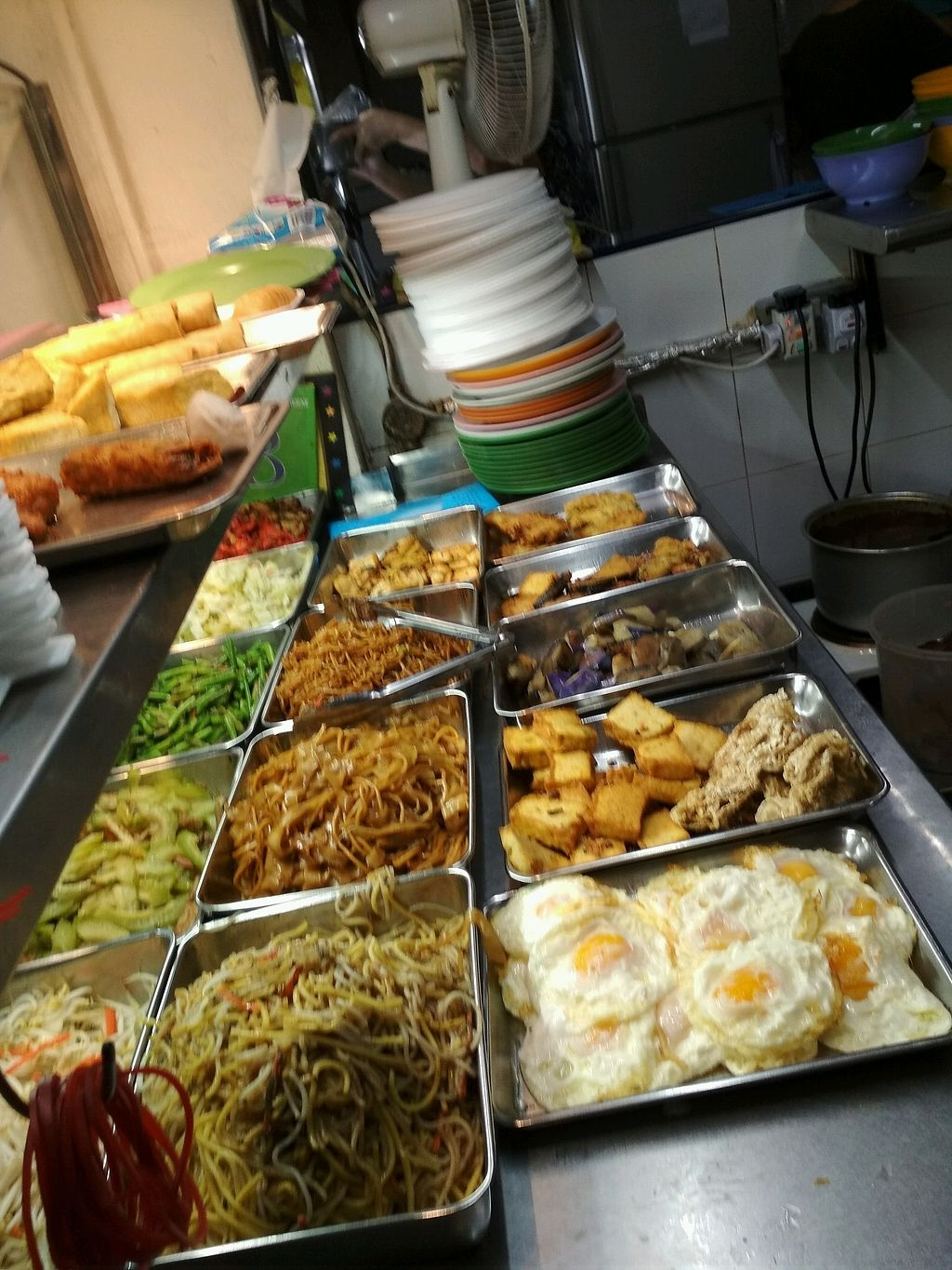 """Photo of Tian Fook Vegetarian Stall  by <a href=""""/members/profile/kwatoyo"""">kwatoyo</a> <br/>economic rice,  Bee Hoon,  noodles,  Kuay Teow <br/> January 10, 2018  - <a href='/contact/abuse/image/58064/344850'>Report</a>"""