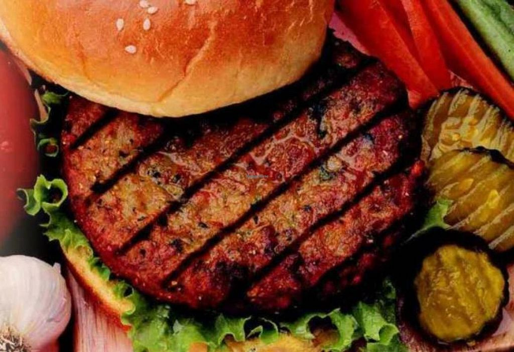 """Photo of Veg at Table  by <a href=""""/members/profile/David%20Jones"""">David Jones</a> <br/>I love burgers! <br/> June 1, 2015  - <a href='/contact/abuse/image/58105/104413'>Report</a>"""