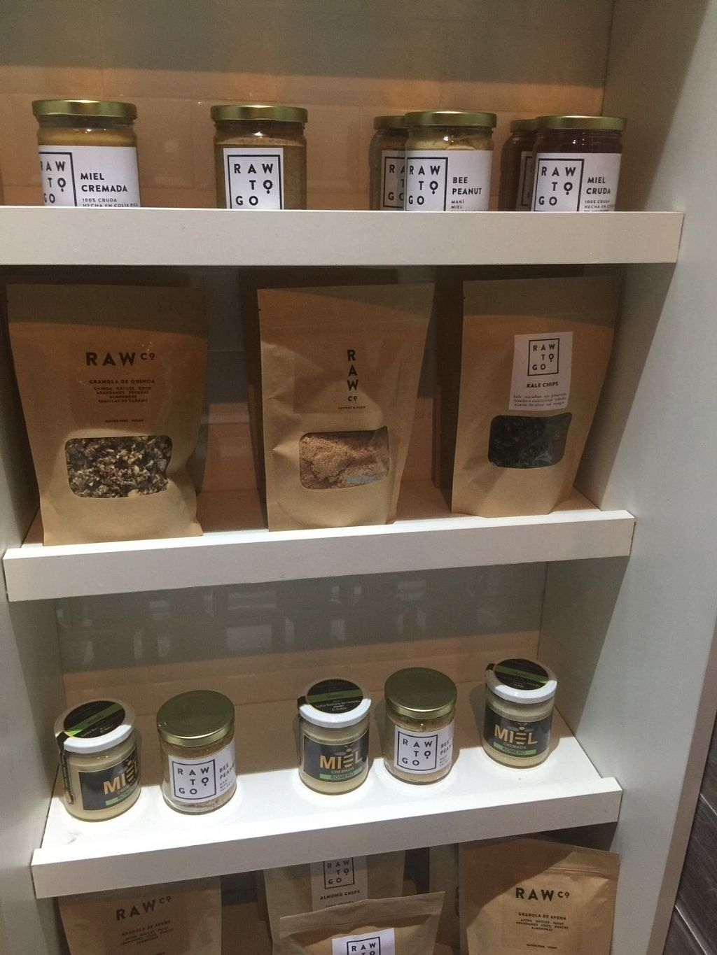 "Photo of Raw Co. Juicery and Food  by <a href=""/members/profile/Gvegan"">Gvegan</a> <br/>Raw choices <br/> October 26, 2016  - <a href='/contact/abuse/image/58106/184446'>Report</a>"