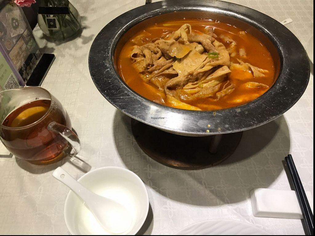 """Photo of Hua Kai - Blossom Vegetarian  by <a href=""""/members/profile/rackoo"""">rackoo</a> <br/>tofu skin stew <br/> May 28, 2017  - <a href='/contact/abuse/image/58112/263254'>Report</a>"""