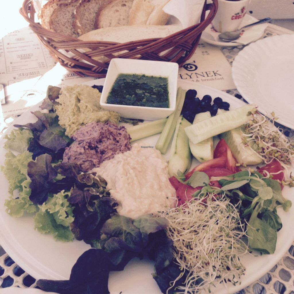 """Photo of Cafe Mlynek  by <a href=""""/members/profile/catha"""">catha</a> <br/>vegan breakfast  <br/> September 7, 2015  - <a href='/contact/abuse/image/5813/116759'>Report</a>"""