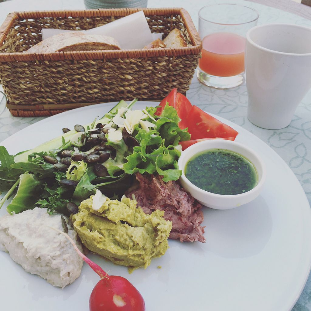 """Photo of Cafe Mlynek  by <a href=""""/members/profile/TheEverydayVegan"""">TheEverydayVegan</a> <br/>part of the vegan breakfast <br/> June 3, 2016  - <a href='/contact/abuse/image/5813/152174'>Report</a>"""