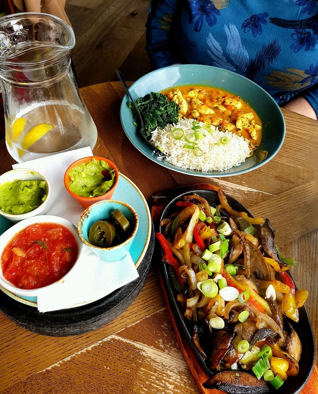 """Photo of Las Iguanas  by <a href=""""/members/profile/SanEH7"""">SanEH7</a> <br/>Delicious Vegan Options <br/> October 22, 2017  - <a href='/contact/abuse/image/58142/317607'>Report</a>"""