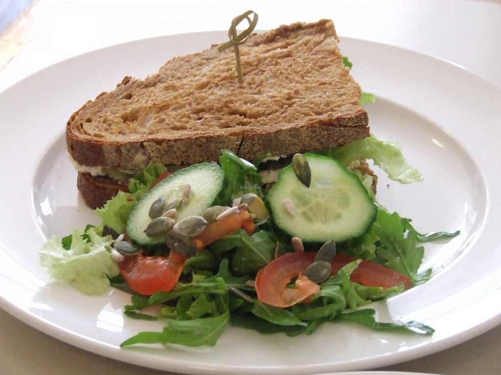 """Photo of Daantje  by <a href=""""/members/profile/v_mdj"""">v_mdj</a> <br/>sandwich with vegan cashew creamcheeze <br/> May 9, 2015  - <a href='/contact/abuse/image/58152/101708'>Report</a>"""